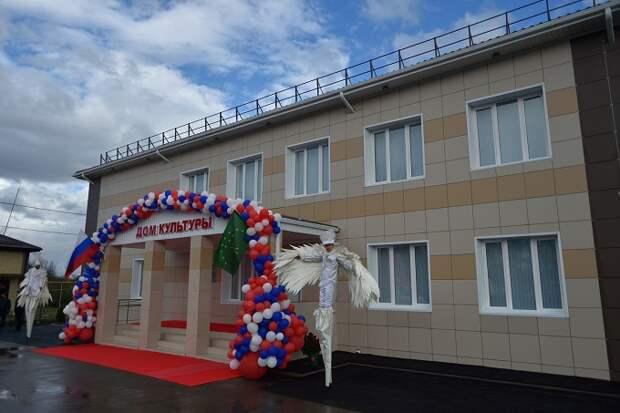 В Тахтамукайском районе после капремонта открыли Дом культуры