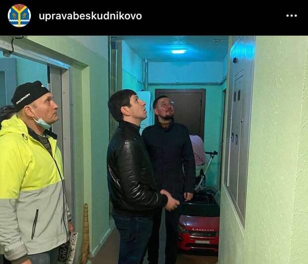 Коммунальщики приведут в порядок дворы на Дмитровке и Бескудниковском бульваре