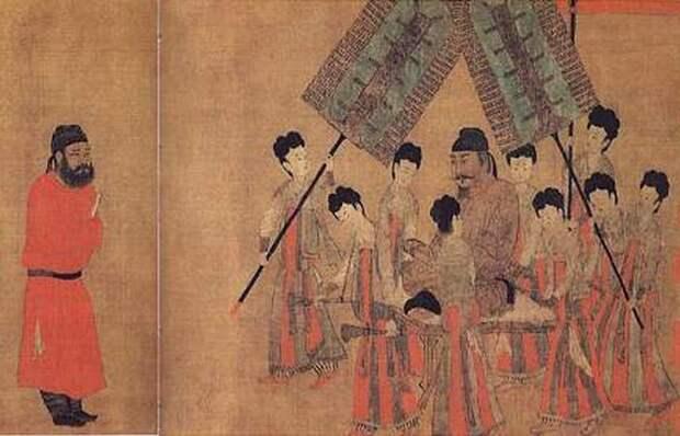 Император Тан Тай-цзун.