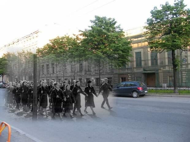 Ленинград 1942-2009 улица Чайковского блокада, ленинград, победа