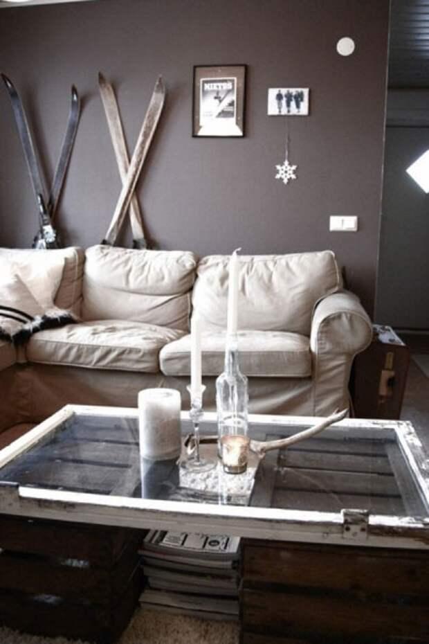 Мебель из деревянных ящиков