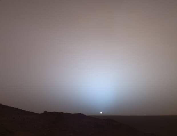Восход солнца на Марсе. жизнь, интересные, фото