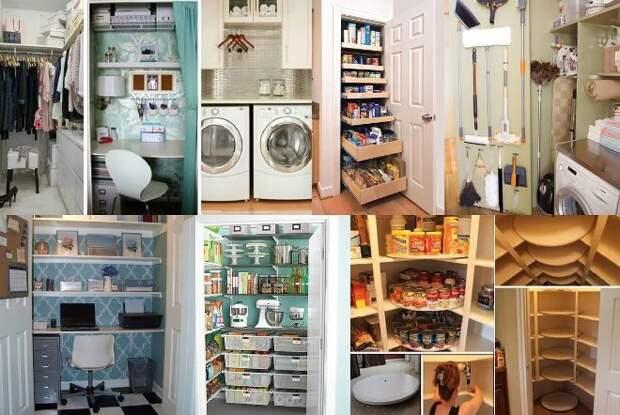 Ремонт кладовки в квартире: фото, варианты рационального обустройства (81 фото)