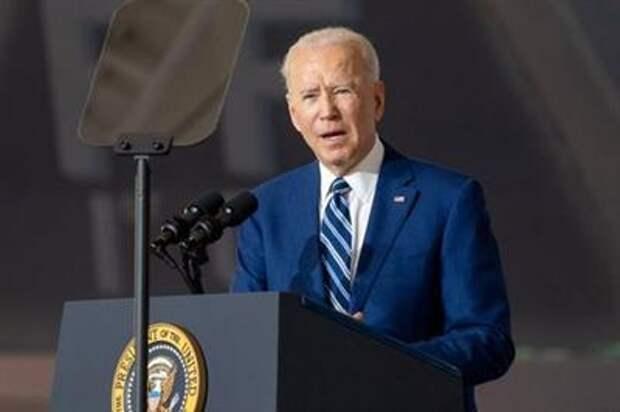 U.S. President Joe Biden delivers remarks at Joint Base Langley-Eustis in Hampton, Virginia, U.S. May 28, 2021. REUTERS/Ken Cedeno