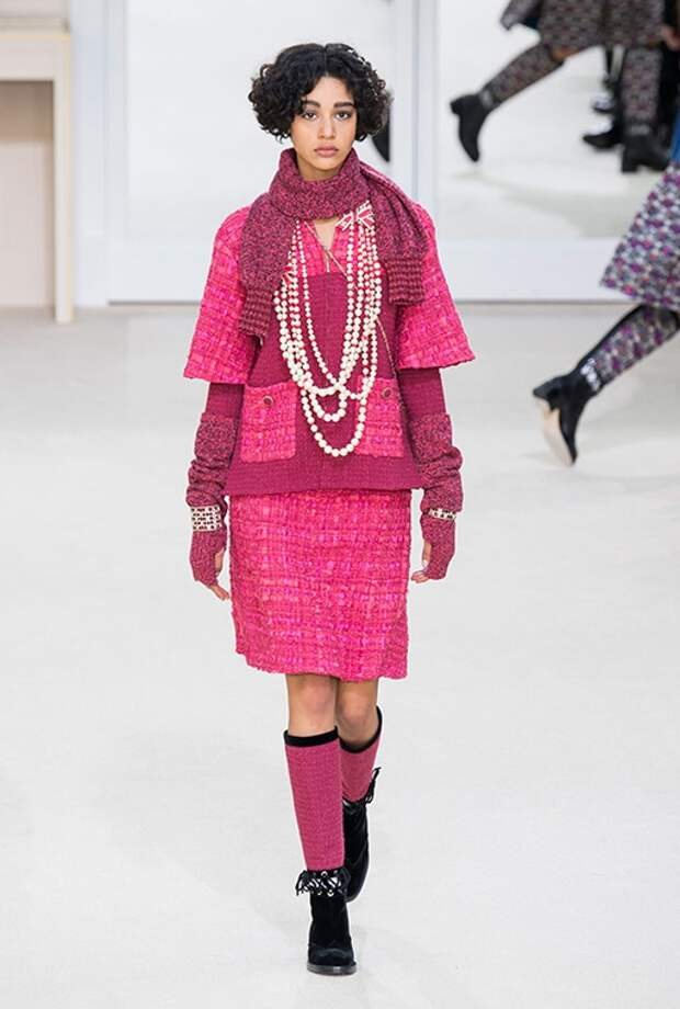 Модная лавина Сhanel, осень-зима 2016