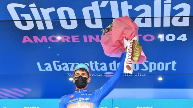 Медер выиграл шестой этап «Джиро д'Италия»