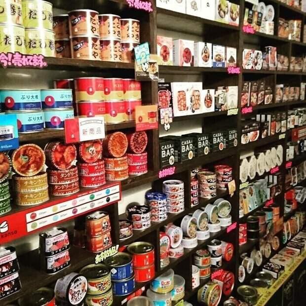 В Японии есть рестораны, где подают консервы