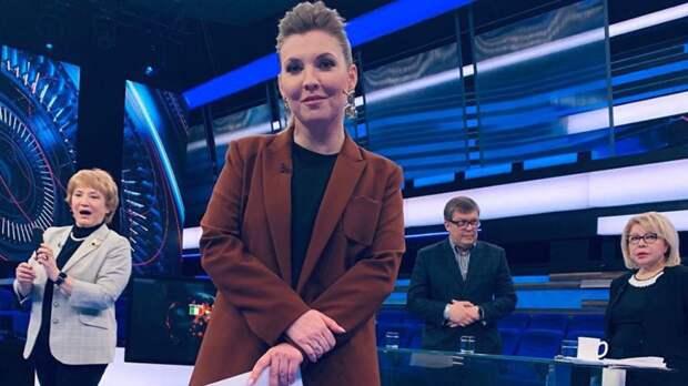 Телеведущая Скабеева резко ответила главе СНБО Украины на издевку о потопе в Крыму
