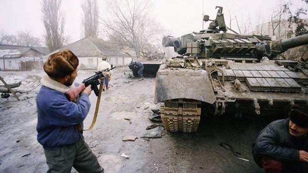 Грозный январь 1995 СССР, прошлое, фото