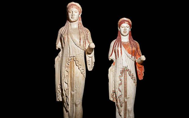 Исчезнувший и обретенный: цвет в античной скульптуре