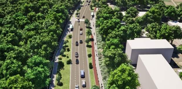 Утвержден проект реконструкции Ботанической улицы