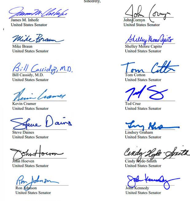 Скриншот cassidy.senate.gov