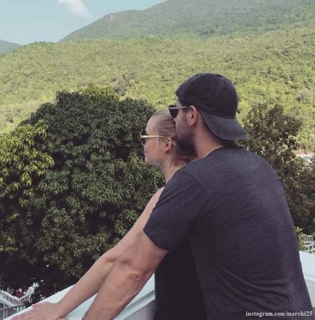 Татьяна Арнтгольц поделилась фото  с мужем в горах