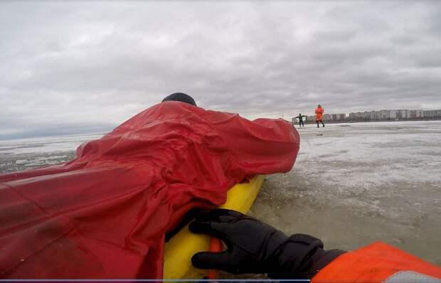 Спасатели готовятся к ледоходу