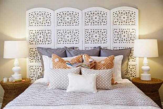Несколько интересных идей оформления изголовья кровати