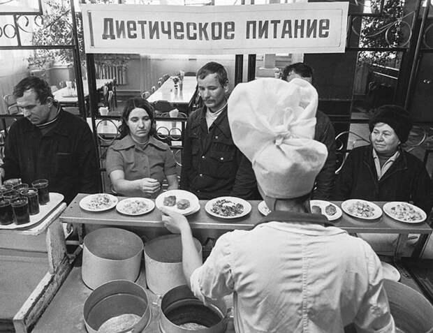Убогий советский фастфуд.