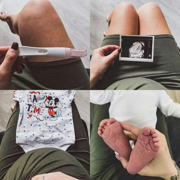 Фото беременности для самых закрытых:)