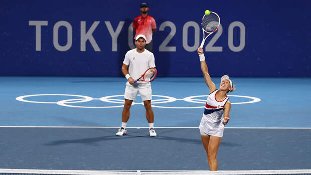 Российский финал: Веснина и Карацев сражаются с Павлюченковой и Рублевым. LIVE