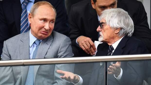 Путин не собирается присутствовать на Гран-при России Формулы-1 в Сочи