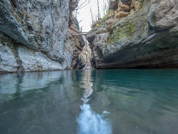 Река Белая.  Хаджохская теснина.