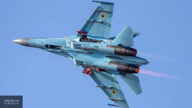 Пентагон опубликовал кадры перехвата российским Су-27 американского B-52