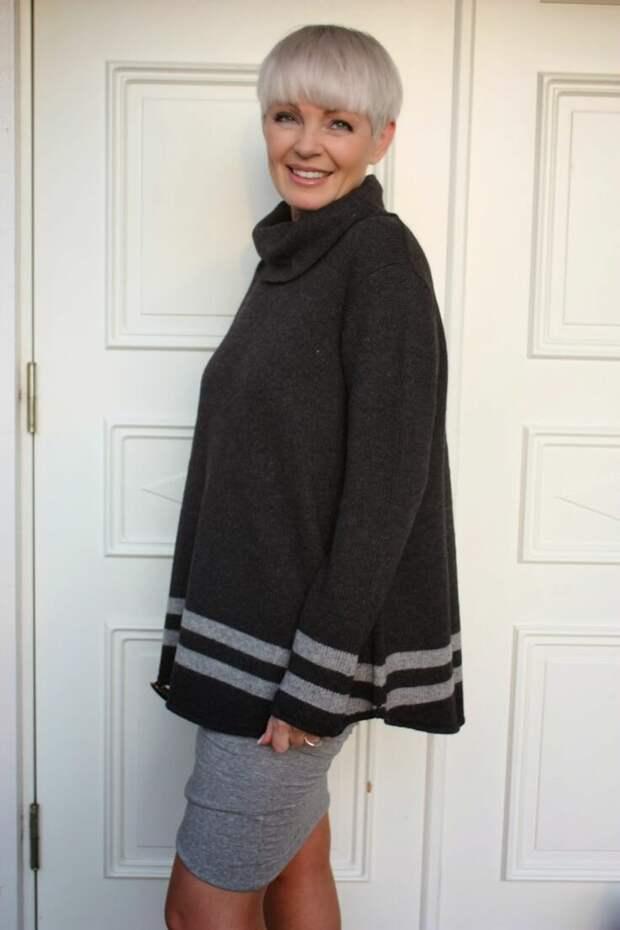 Одеваться можно просто, а выглядеть стильно. Образы для женщин 50+ | Жизнь пышки | Яндекс Дзен
