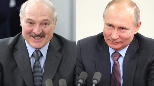 Лидеры РФ и Белоруссии поздравили друг друга с 9 Мая