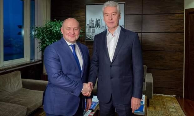 Николаев предложил отдать строительство КОС «Южные» Собянину
