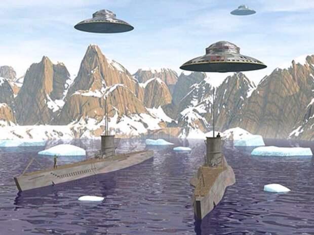 Базы Третьего Рейха в Антарктике. Разоблачение мифа