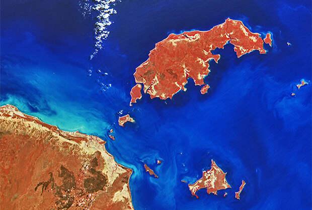 Австралия, острова Уэлсли