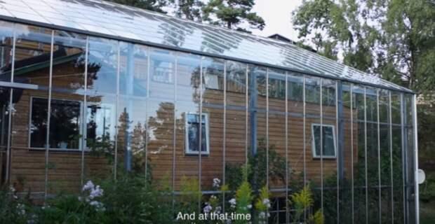 Самое оригинальное решение для обогрева дома зимой