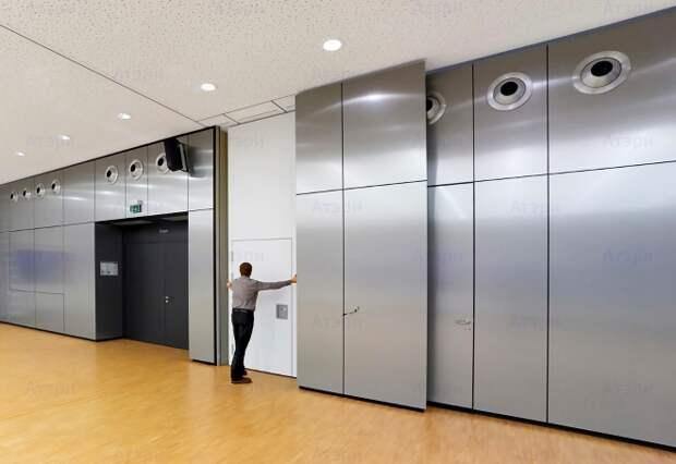 Мобильные перегородки – современные конструкции для практичного зонирования пространства (62 фото)