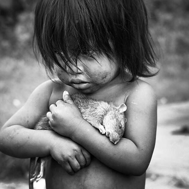 Девочка гуарани