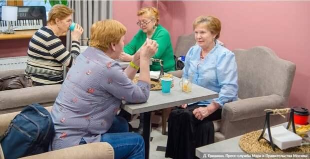 В Москве в домах престарелых не зафиксировано заболеваемости COVID-19.Фото: Д. Гришкин mos.ru