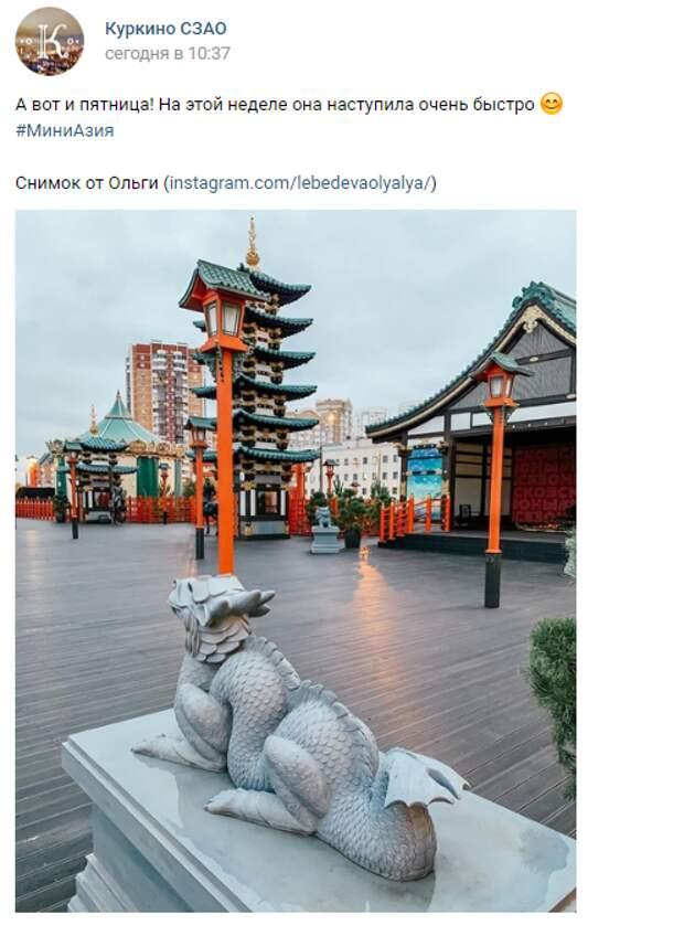 Фото дня: дракон на страже мира и покоя