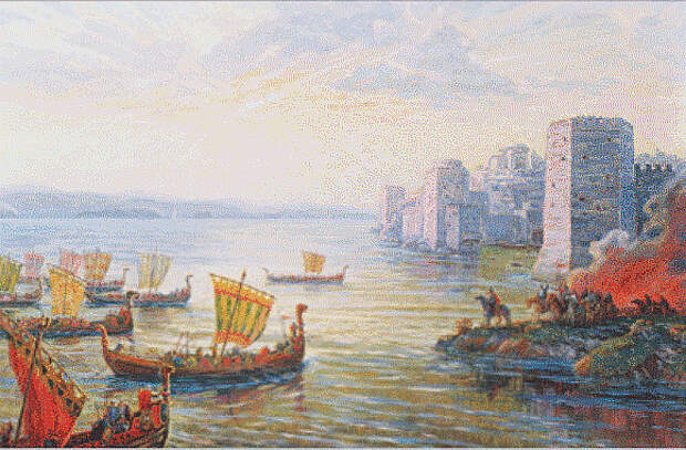 Морской поход славян на Царьград в 626 г.