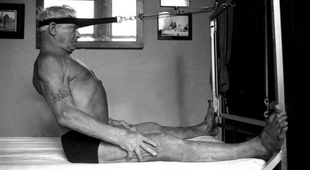 джозеф пилатес упражнения