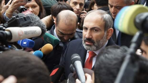 В Армении назвали статус Пашиняна после отставки