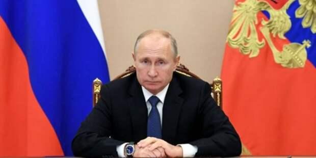 Путин пообщался с членами Совбеза