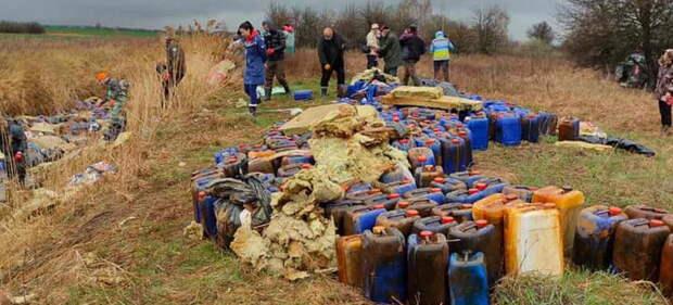 Под Киевом химическое загрязнение. Под угрозой Днепр