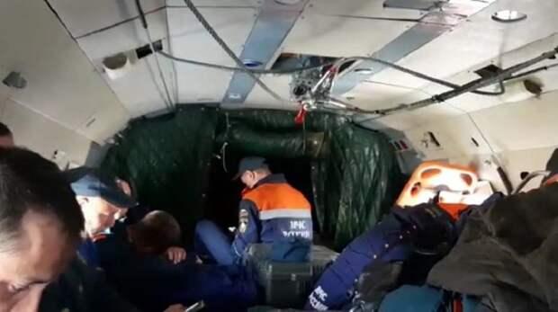 28 погибших: место падения Ан-26 на Камчатке осмотрели медики