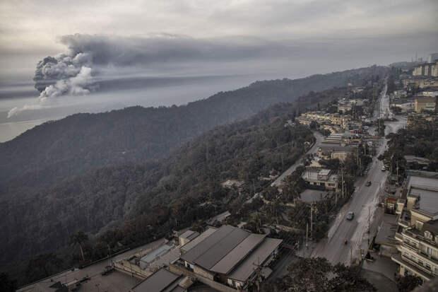 Извержения вулкана на Филиппинах