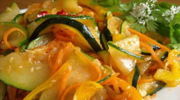 Кабачки «Застольные» — вкуснейшее угощение