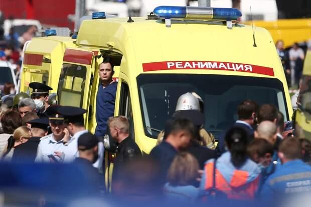 Число погибших при стрельбе в школе в Казани выросло до 11 человек