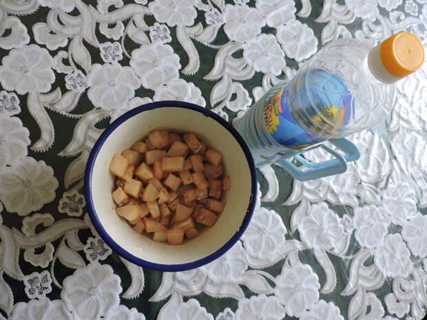 Добавить чуть растительного масла и оставить на 10-15 минут еда, сделай сам, фоничка