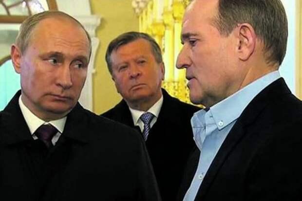 Компромат наМедведчука вбрасывают вСМИ СБУ иАлексей Данилов