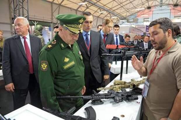 Сергей Шойгу: «Калашникову» следует доработать автомат АК-17
