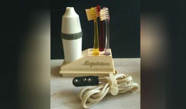 В 1968 году в СССР выпустили электрическую зубную щетку