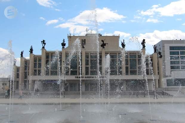 Светомузыкальный фонтан на Центральной площади Ижевска могут включить в майские праздники