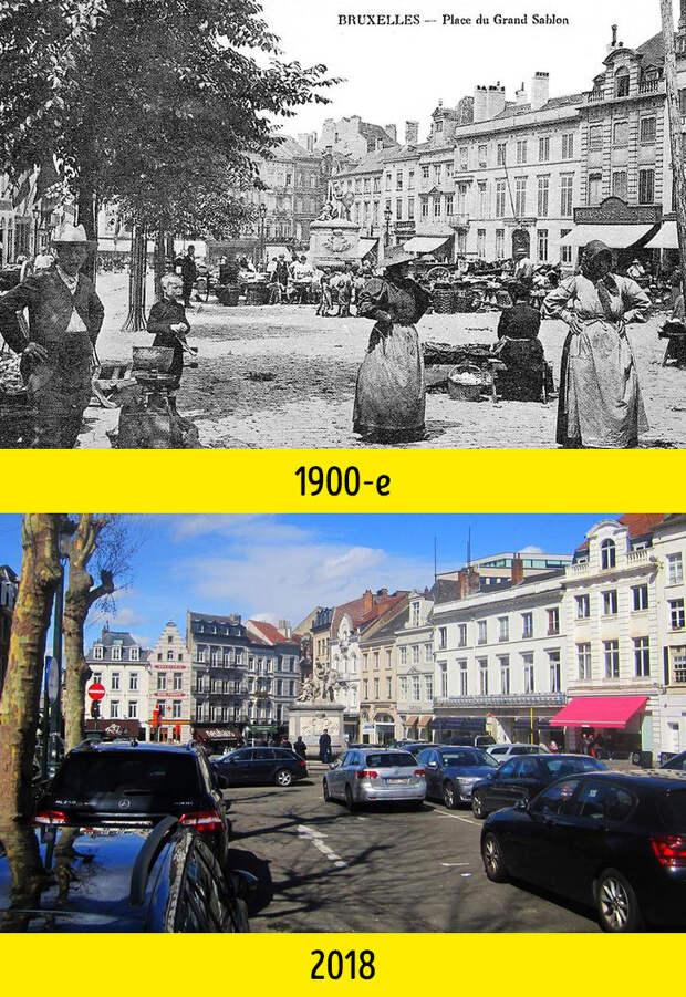 13 фотосравнений, доказывающих, что за 100 лет мир изменился до неузнаваемости